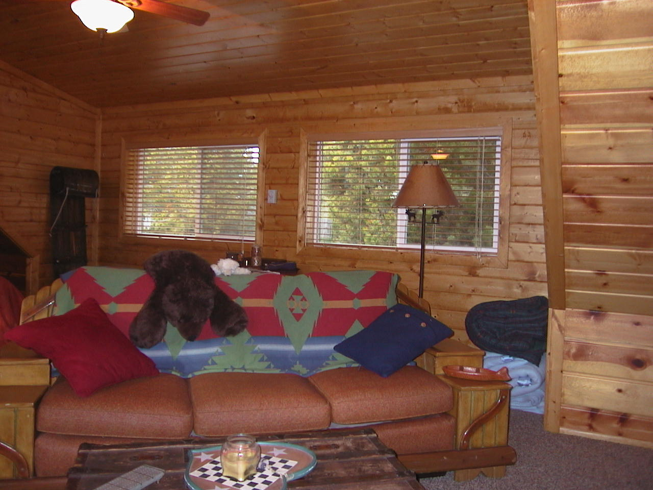Island park idaho bunk room